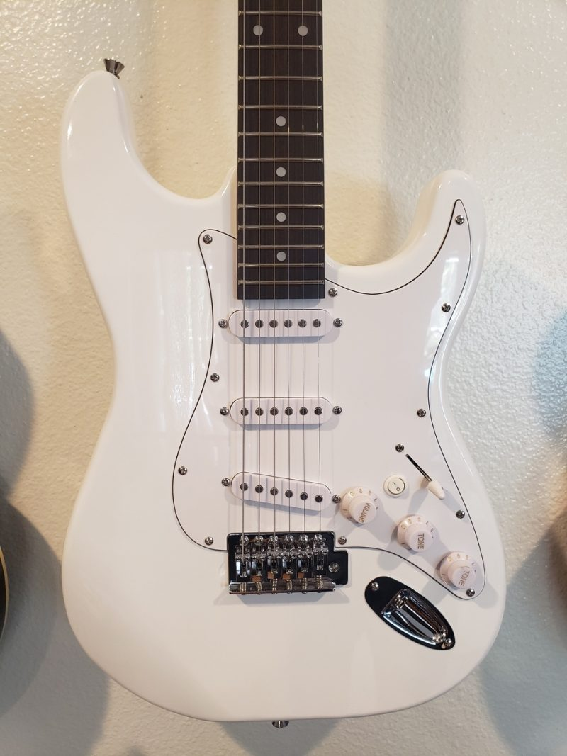 cheap strat guitar body